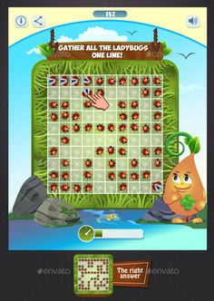 Gather All the Ladybugs - Game Kits Game Assets