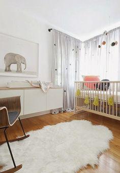 Inspiración para la habitación del bebé