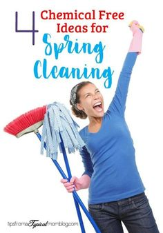 Learn how you can Spring Clean your home completely chemical free and all natural with these tools and recipes. Lemon juice, vinegar and baking soda! #springcleaning #steamer #chemicalfree #allnatural #cleaning #home #house #momlife
