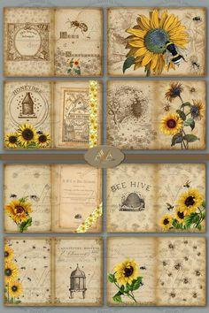 Journal Pages Printable, Free Printable Art, Printable Paper, Journal Paper, Scrapbook Journal, Scrapbook Paper, Junk Journal, Vintage Scrapbook, Decoupage Vintage