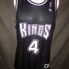 Champion Vintage Sacremento Kings Size 44 Corliss Williamson Champion  Basketball Jersey Size l - Jerseys for 75c83817d