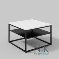 modern coffee table - Stolik kawowy z półką - biały połysk Table, Furniture, Home Decor, Decoration Home, Room Decor, Tables, Home Furnishings, Home Interior Design, Desk