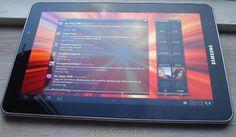 Truly a beatifull tablet, the Samsung Galaxy tab 7,7.