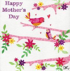 Happy Mother's Day Greetings, Cute Paintings, Mother's Day Greeting Cards, Happy Mothers Day, Birds, Range, Amp, Garden, Ebay