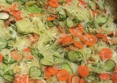 Csalamádé savanyúság télire Salsa, Cabbage, Canning, Vegetables, Ethnic Recipes, Desserts, Food, Hungarian Recipes, Tailgate Desserts