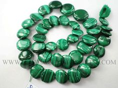 Malachite Smooth Disc Beads Quality A 9 to 12.5 mm 36 cm #malachite #malachitebeads #malachitebead #malachitedisc #discbeads #beadswholesaler #semipreciousstone #gemstonebeads #beadsogemstone #beadwork #beadstore #bead