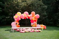 Audrey's Birthday Party: http://www.stylemepretty.com/living/2014/09/11/audreys-birthday-party/ | Photography: Ruth Eileen - http://rutheileenphotography.com/