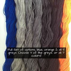 """Thanks for the kind words! ★★★★★ """"This is absolutely gorgeous yarn and seller was so sweet to include a few treats. Thank you!"""" forknitmeknot http://etsy.me/2DKaAmC #etsy #dagmareiryarn #knittersofinstagram #crochetersofinstagram"""