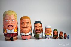 Robin Williams Nesting Dolls Are Now A Strangely Awesome Thing (POLL) | 7x7