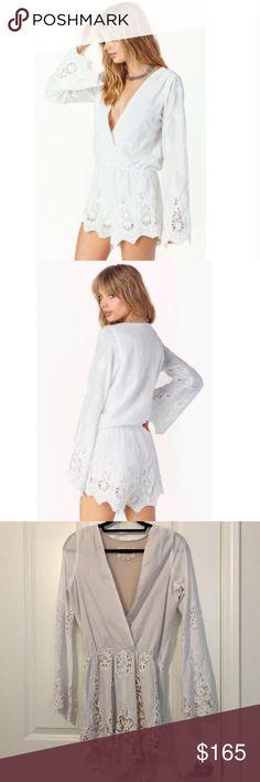 Stone Cold Fox Romper Gently worn, size 2 / medium/large. Oversized fit. Stone Cold Fox Dresses Mini