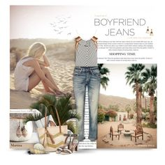 """Borrowed from the Boys: Boyfriend Jeans"" by thewondersoffashion ❤ liked on Polyvore featuring Chloé, Kayu, Tabitha Simmons, Loren Hope, boyfriendjeans, chloe, ralphlauren and tabithasimmons"