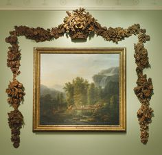 A set of William and Mary revival carved limewood wall appliques in the style of Grinling Gibbons second half 19th century | Lot | Sotheby's