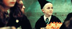 """Impossible to forget the blond evil that was Draco Malfoy, amirite?! 