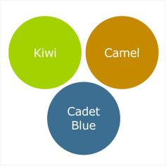 How To Wear Cadet Blue For A Shaded Spring (Warm Spring)
