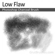 A smooth, multipurpose, mid-toned charcoal brush with enough tone variation to define a visible shade range which maxes out at about 60% coverage which enables easy gradient build up by using multiple passes.