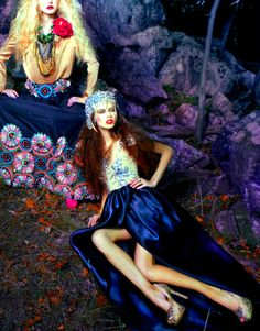 fashion + bohemian | Picture Lust: Editorial Shock ~ Featured In Dep Magazine February ...