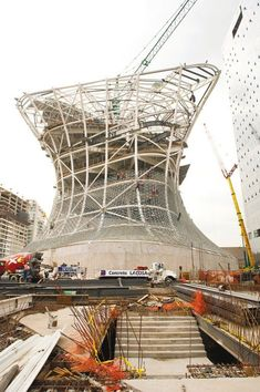 Gallery of In Progress: Soumaya Museum / LAR - 1 Parametric Architecture, Wood Architecture, Architecture Details, Brutalist Buildings, Architectural Engineering, Mix Use Building, Industrial Design Sketch, Famous Architects, Amazing Buildings