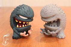 """Groper"" resin monsters from Triplikid"