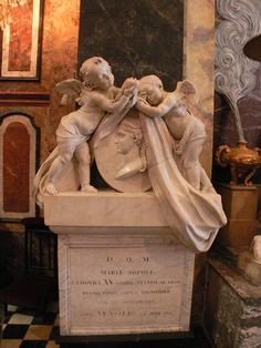 Monument containing the heart of Marie Leszczyńska, Queen of France 1770 at Notre Dame de Bon Secour in Nancy, France. Versailles, Architectural Antiques, French Art, Marie Antoinette, Ancestry, 18th Century, Garden Sculpture, Mario, History