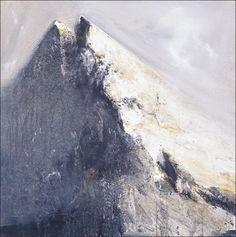 Ørnulf Opdahl Mountain Paintings, Nature Paintings, Landscape Paintings, Winter Painting, Scandinavian Art, Mountain Art, Aboriginal Art, Abstract Landscape, Love Art