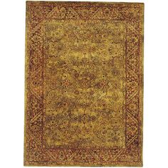 When I finally convince my husband to pull up the carpet in our living room, this is the area rug I want.