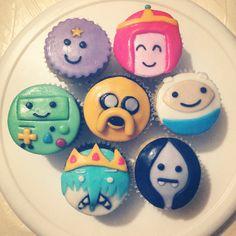 """Cupcakes """"hora de aventura"""""""