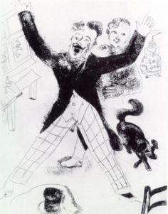 Иллюстрации к «Мертвым душам» Ноздрёв.
