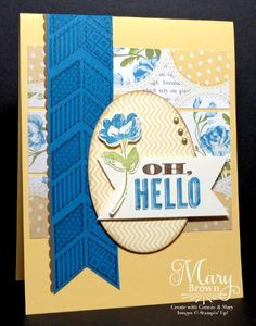 Oh Hello by stampercamper - Cards and Paper Crafts at Splitcoaststampers