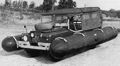 The Land Rover History: Military Vehicles Hors Route, Land Rover Series 3, Amphibious Vehicle, Ww2 Pictures, Bug Out Vehicle, Land Rover Defender, Water Crafts, Range Rover, Rafting