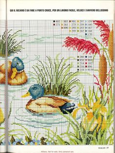 Cross Stitch Cards, Cross Stitch Borders, Cross Stitch Animals, Cross Stitch Flowers, Cross Stitch Designs, Cross Stitching, Cross Stitch Embroidery, Cross Stitch Patterns, Mermaid Cross Stitch