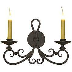 "Laura Lee Laguna 2-Light 20"" Wide Wall Sconce"
