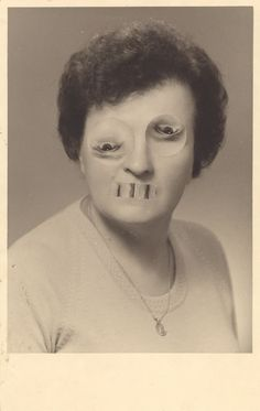 Big Mama_Switched vintage photo,