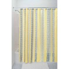 InterDesign Moxi Shower Curtain, Gray