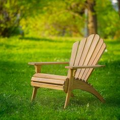 """Premium Oak Adirondack Chair by RussianRockingSheep on Etsy. Adirondack chair is handmade from solid oak. Oiled with natural wax. The chair has a stylish design, incredible comfort and durability. It is possible to manufacture chairs from other wood and staining in any color of your desire. The seat can also vary (for children and for adults). When ordering from two chairs - discount. Dimensions: 32"""" 38"""" 38"""""""