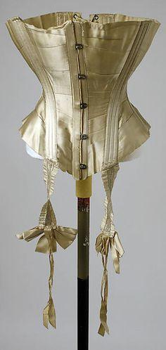 Corset Date: 1900 Culture: American Accession Number: C.I.42.161.9