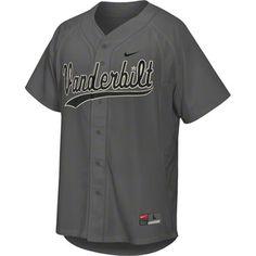 Vanderbilt Commodores Grey Nike Baseball Replica Jersey    Medium or Large    http://www.fansedge.com/Vanderbilt-Commodores-Grey-Nike-Baseball-Replica-Jersey-_396907812_PD.html#