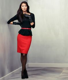 Be bold in your Nov 6, 2012 Election night look with Ann Taylor