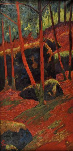 Le Bois rouge, Le Huelgoat