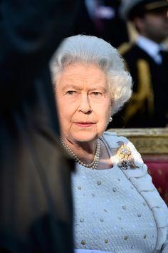 Queen Elizabeth II Photos: Queen Elizabeth II Visits Paris: Day 1
