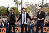 Fergie And Il Volo On 'Extra'