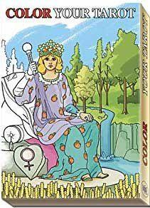 Color Your Tarot 22 major