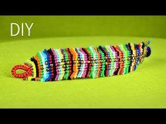 Colorful Boho Chic Macramé Bracelet Tutorial - YouTube