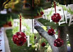 Ideias para Decoração de Festa: Pomanders, as bolas de flores! - Uberlândia - Artigos e Dicas - SeuEvento.Net
