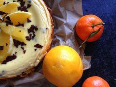 Świąteczny sernik czekoladowo-pomarańczowy