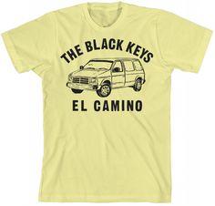 The Black Keys Official Store - Van T-shirt - Apparel