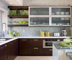 Click Pic for 26 Modern Kitchen Design Ideas | Rich Espresso Cabinetry | Kitchen Decor Ideas