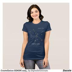 Constellation GEMINI unique, elegant T-Shirt