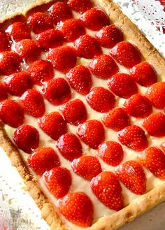 masa-sablee-thermomix Savory Tart, Strawberry Desserts, Organic Matter, Flan, Pepperoni, Crepes, Raspberry, Pizza, Menu
