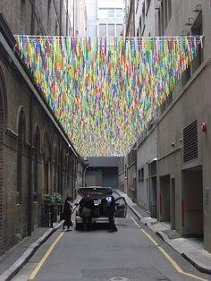 Laneway Art: Nike Savvas by City of Sydney, via Flickr