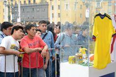 La exposición número 23 del Museo fue la ocasión perfecta para que miles de peruanos vean gratis nuestra colección / #sports #soccer #fútbol #colección #soccerfan #CopaAmérica #Chile2015